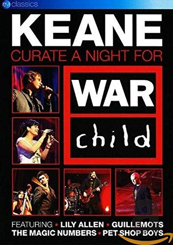 Keane: Curate A Night For War Child [DVD] [Reino Unido]