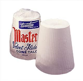 Master Tweeten Velvet Glide Hand Cone Billiard Chalk Talc