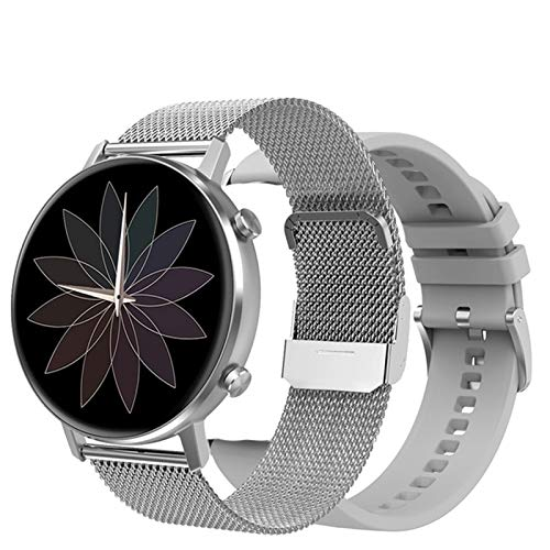 YWS DT96 Smart Watch Monitor De Ritmo Cardíaco para Hombres Y Mujeres 360 * 360 Pantalla Táctil Completa Rastreador De Fitness Impermeable Adecuado para Teléfonos iOS De Android,F