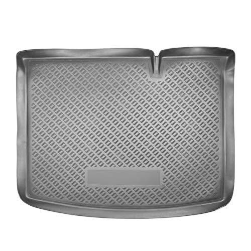 Sotra Auto Kofferraumschutz für den Dacia Sandero - Maßgeschneiderte antirutsch Kofferraumwanne für den sicheren Transport von Einkauf, Gepäck und Haustier