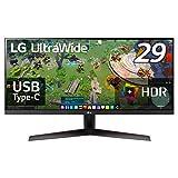 【Amazon.co.jp 限定】LG ゲーミング モニター 29WP60G-B 29インチ/ウルトラワイド(2560X1080)/IPS 非光沢/HDR/FreeSync/USB Type-C,DisplayPort,HDMI