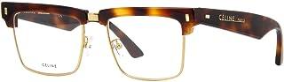 إطار نظارة سيلين CL50013U - 039 هافانا وذهبية داكنة 51 ملم
