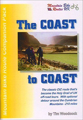 The Coast-to-coast Mountain Bike Route Pack (Mountain bike route companion packs) by Tim Woodcock (31-Mar-1999) Paperback