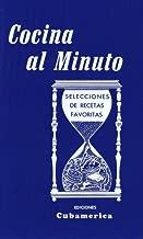Best cocina al minuto book Reviews