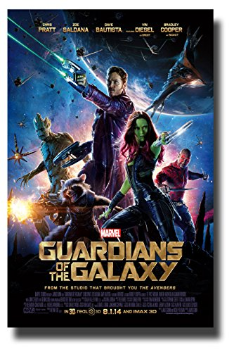 Guardians Of The Galaxy Movie Poster 11'x17' Mini Poster
