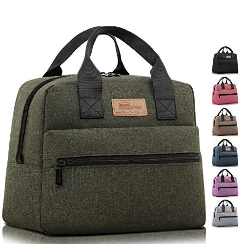 HOMESPON Insulated Lunch Bag Lunch Box Cooler Tote Box...
