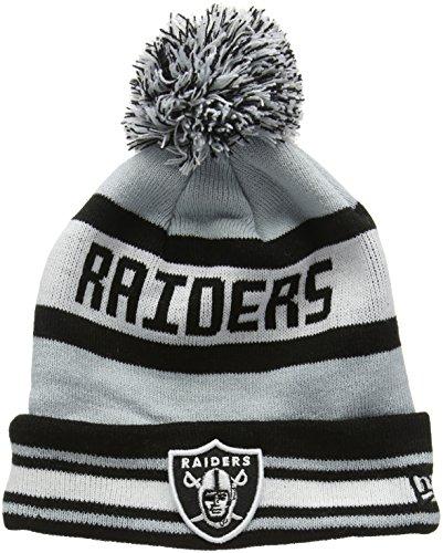 New Era Bobble Knit Oakland Raiders-Gorro de Punto Hombre