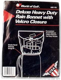 Jef World of Golf Gifts and Gallery, Inc. Vinyl Rain Bonnet