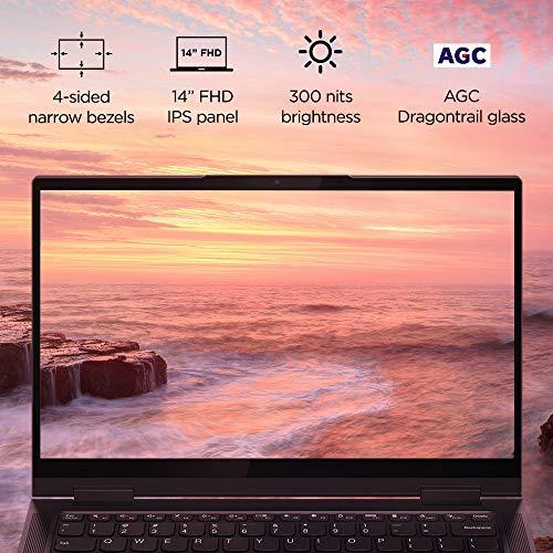 Lenovo Yoga 7 11th Gen Intel Core i5-1135G7 14 FHD IPS 2-in-1 Touchscreen Laptop (16GB/512GB SSD/Windows 10/MS Office/Lenovo Digital Pen/Fingerprint Reader/Slate Grey/1.43Kg), 82BH00CTIN