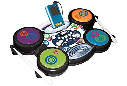 Simba Toys 106835639 - My Music World, Batteria in Grado di Leggere Gli MP3