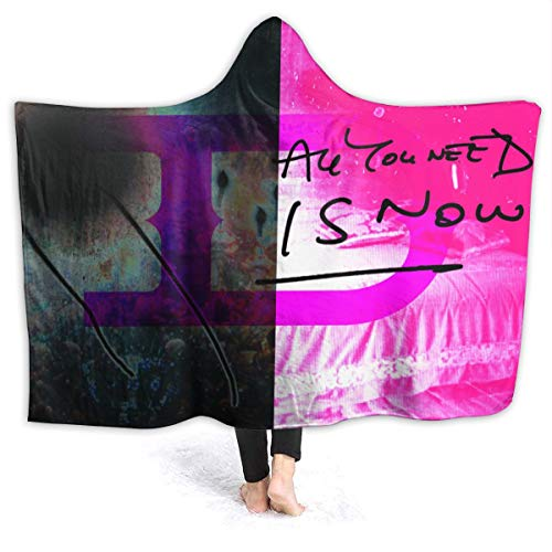 MAJJAKJH-id Blanket Hoodie Duran Duran All You Need is Now Adults and Children Blanket Blanket, Soft Cape, Shawl Wrap