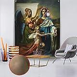 KHKJ Tapiz de Ángel Mandala Colgante de Pared Decoración del hogar Manta de Pared Sala de Estar Dormitorio TV Fondo BohemianAngel Wings A11 200x180cm
