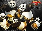 Rompecabezas para adultos de 1000 piezas Kung Fu Panda Puzzle, rompecabezas de suelo *