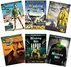 Breaking Bad: The Complete Series DVD Collection - Seasons 1, 2, 3, 4, 5 & 6 (The Complete First, Second, Third, Fourth, F...