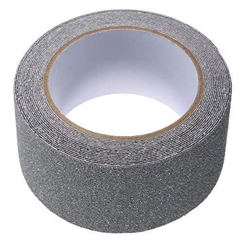 MJJEsports 5cm x 5m anti-slip zelfklevende stickers vloerveiligheid niet-slip tape - grijs