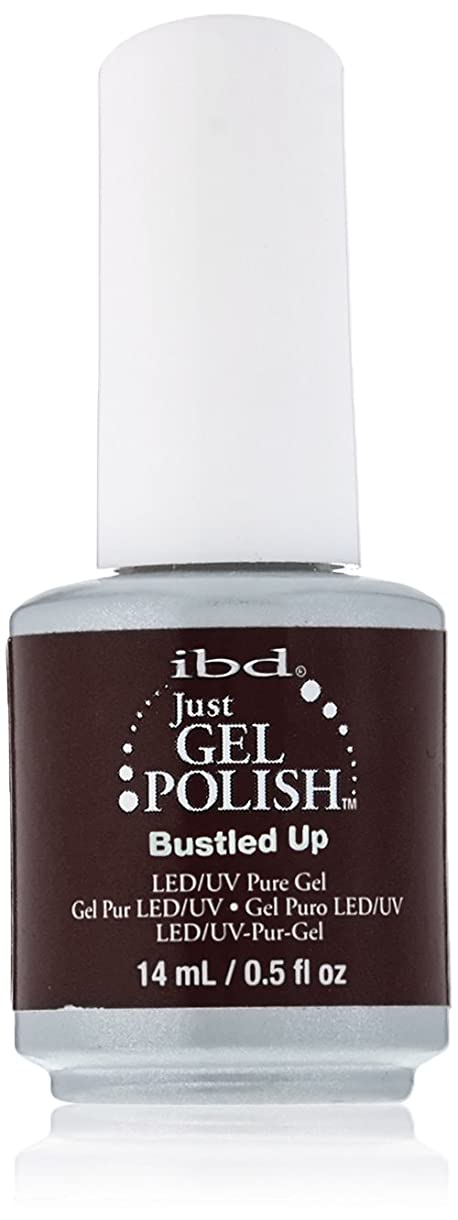 裸楕円形頑張るibd Just Gel Nail Polish - Bustled Up - 14ml / 0.5oz