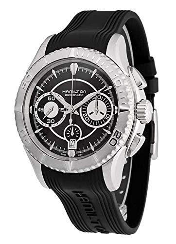 Hamilton Herren-Armbanduhr Jazzmaster Seaview Chronograph Datum Analog Automatik H37616331