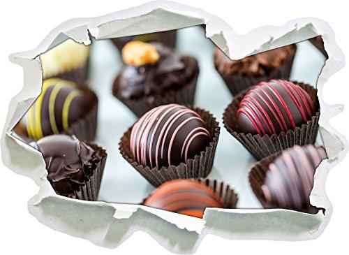 Dolci cioccolatini, Carta 3D della Parete di Formato: 62x45 cm Decorazione della Parete 3D Wall Stickers murali Stickers
