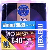 maxell データ用 3.5型MO 640MB Windowsフォーマット 10枚パック MA-M640.WIN.B10P