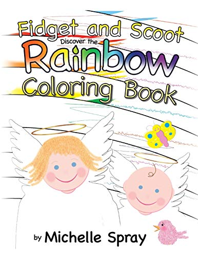 Fidget and Scoot Discover the Rainbow Coloring Book