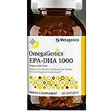 Metagenics OmegaGenics EPA-DHA 1000 Lemon- 120 softgels