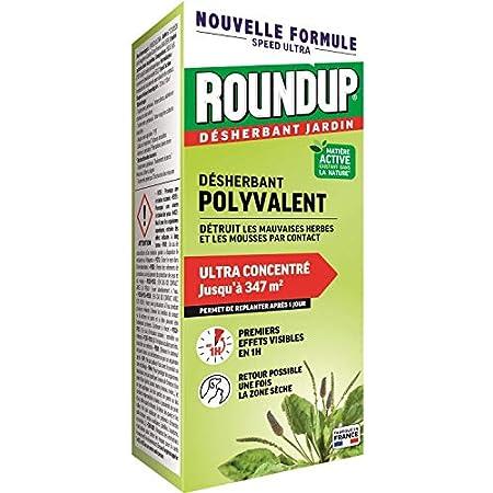 Roundup Désherbant Concentré Multi-usages 800mL