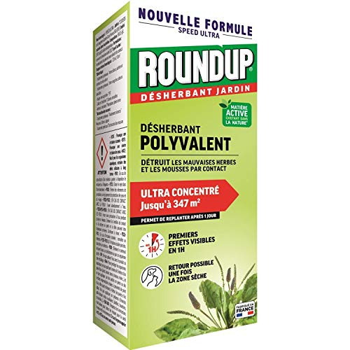 Roundup Désherbant Concentré Multi-usages 800mL