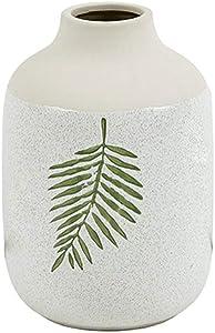 Liangzishop-Vasi a Vaso in Ceramica Decorata con Fiori Vaso in Stile Americano con Fiori (Dimensione : B)