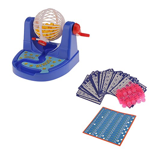 Perfeclan Plastik Bingokarten Brain Teaser Puzzle Brettspiel Kids Family Play Gift