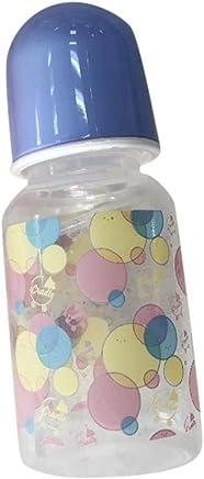 Saingace Newborn Baby Bottle for Reborn Doll Toy Simulation Dolls Nipple blue