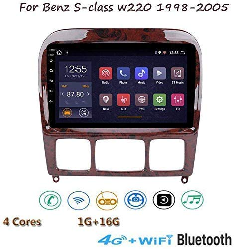 Why Should You Buy Art Jian Android 8.1 GPS Navigation, for Mercedes Benz Classe S W220 1998-2005 Mu...