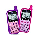 Vtech - Kidi Talkie Rose - Talkie-Walkie Enfants Avec Écran et Jeux, Jouet Électronique Éducatif