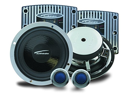 Find Bargain Audiobahn ABC 5002 5.25 inch (13cm) 2-Way Carbon Compo System 160W RMS 320W MAX