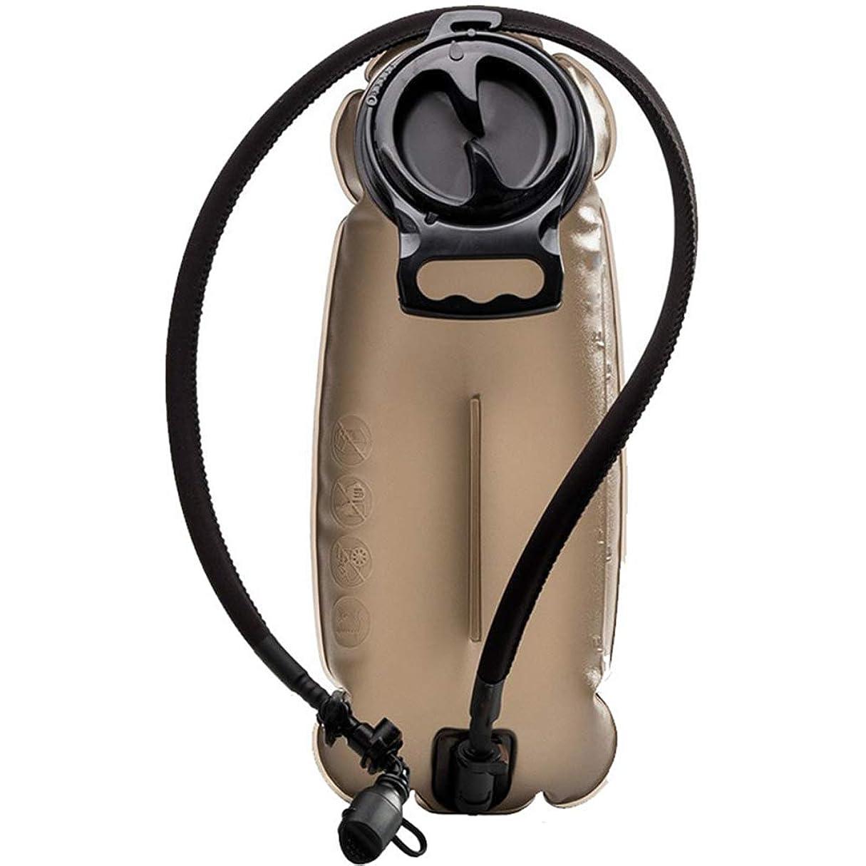 クランプセラフピストン3Lハイドレーションブラダーバックパックウォーターバッグアウトドアウォーターリザーバーブラダーアウトドアハイキングサイクリングキャンプクライミングウォータータンク環境に優しい無臭