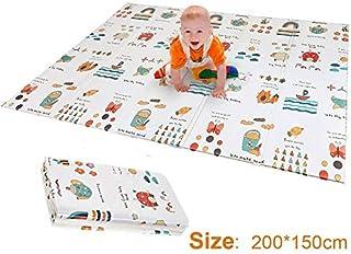 Q Baby Play Mat,XPE Children's Mat Play Mat Baby, Folding Mat Baby Carpet Play Mat For Baby for Bedroom Living Room Games ...