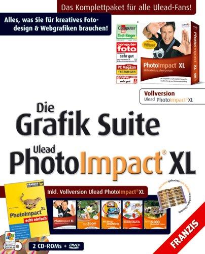 Die Grafik Suite Ulead PhotoImpact XL (DVD-ROM)