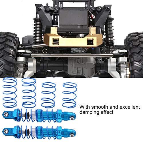 Dilwe RC Auto Stoßdämpfer, Einstellbar Metall Stoßdämpfer Dämpfer für SCX10 TRX-4 D90 1/10 RC Crawler Auto(70 mm / 2,76 Zoll)