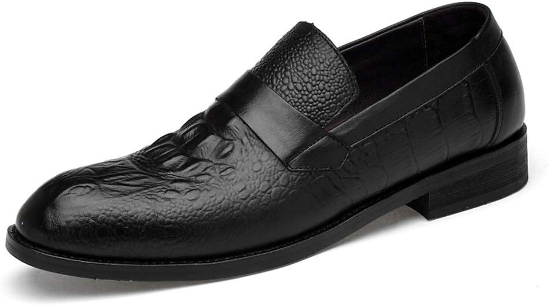 Första Första Första lager av läderskor, mansskor, Business Casua skor, Cricket skor (färg  svart krokodilavtryck, storlek  44)  prisvärd