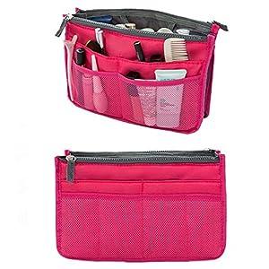 51RYGTLfPdL. SS300  - SamGreatWorld - Organizador de bolsos multifunción para viajes, con múltiples bolsillos, organizador para cosméticos…