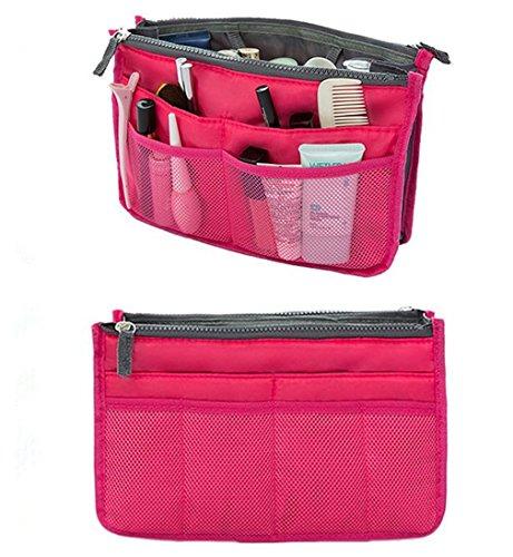 51RYGTLfPdL - TheWin - Organizador de Viaje para cosméticos, Color Hot Pink, tamaño 1
