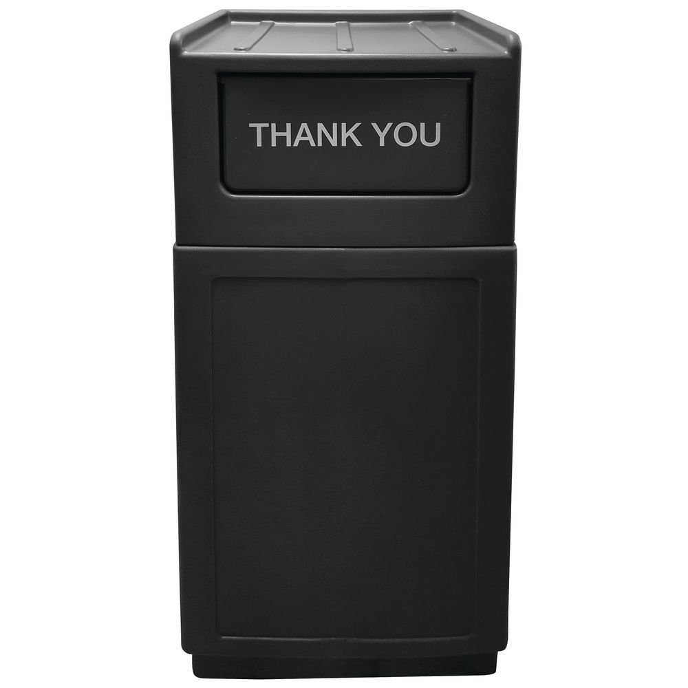 Hubert Trash Receptacle Garbage Max 40% OFF Can Discount is also underway with Tray 39 Gallon Top Lid