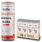 Hella Cocktail Co. | Spritz Aromatic Bitters & Soda | 12oz Cans (Case of 12) | Ready to Dr...