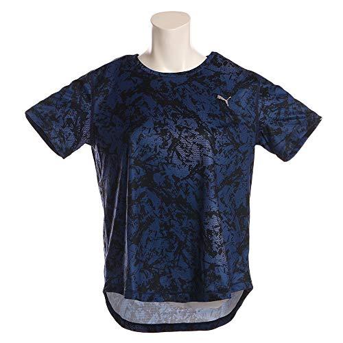 [プーマ] ランニングウェア 半袖 グラフィック Tシャツ 517532 [レディース] ピーコート (05) 日本 M (日本...