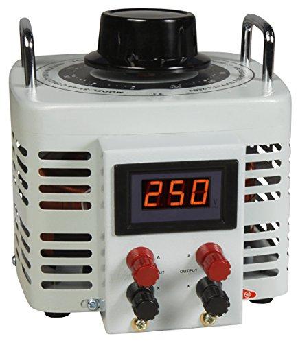 MC POWER - Ringkern-Stelltrafo   V-4000 LED   0-250 V, 4 A, 1.000 W, NICHT galvanisch getrennt