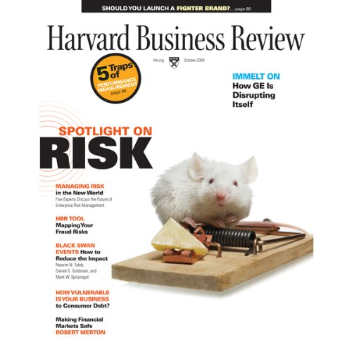 Harvard Business Review, October 2009 audiobook cover art