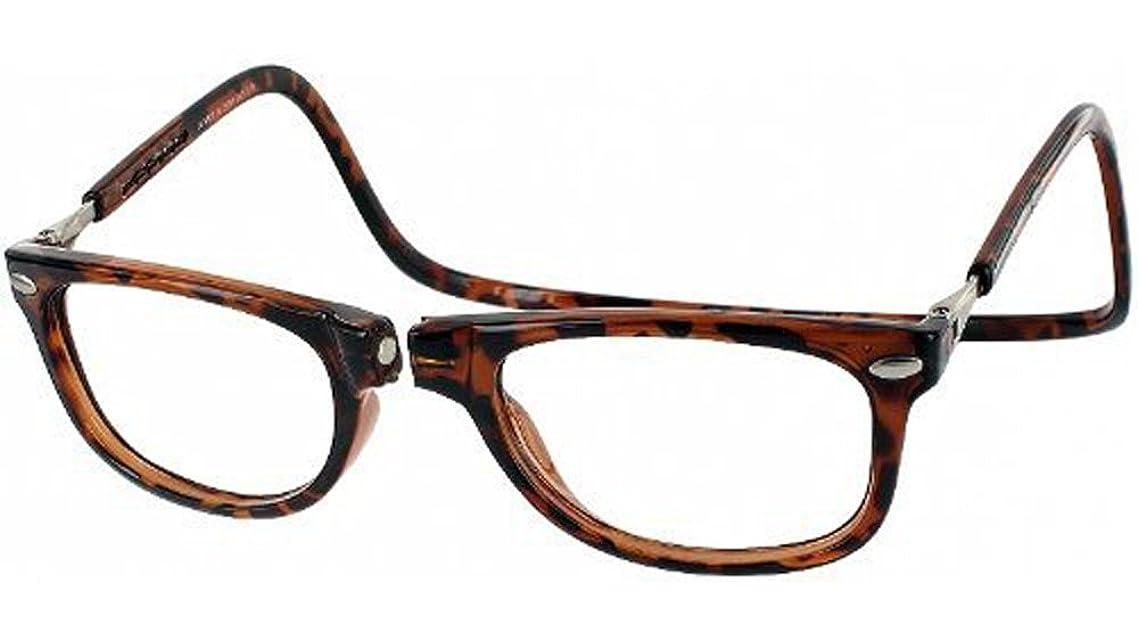 Clic Magnetic Eyeglasses Ashbury Reading Glasses in Black or Tortoise