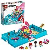 LEGO 43176 Disney Princess Cuentos e Historias: Ariel, Juego de Viaje, Juguete de la Sirenita, Regalo para Niñas y Niños +5 Años