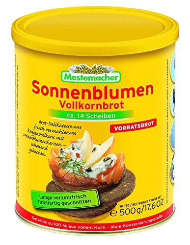 500g Sonnenblumen Vollkornbrot von Mestemacher (0,58 EUR/100g)
