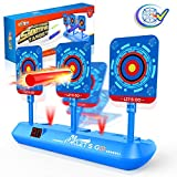 Cool Toys for 3-12 Year Old Boys, AutoElectronic Shooting Target for Boys Toys Best Gifts for 5-12 Yeas Old Kids Toy Nerf Guns