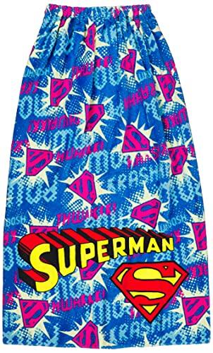 丸眞 100cm丈 巻きタオル ラップタオル DC スーパーマン スーパーマンミックス イエロー 4105007300